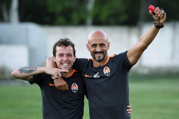 with Bernard @ FC Shakhtar Donetsk