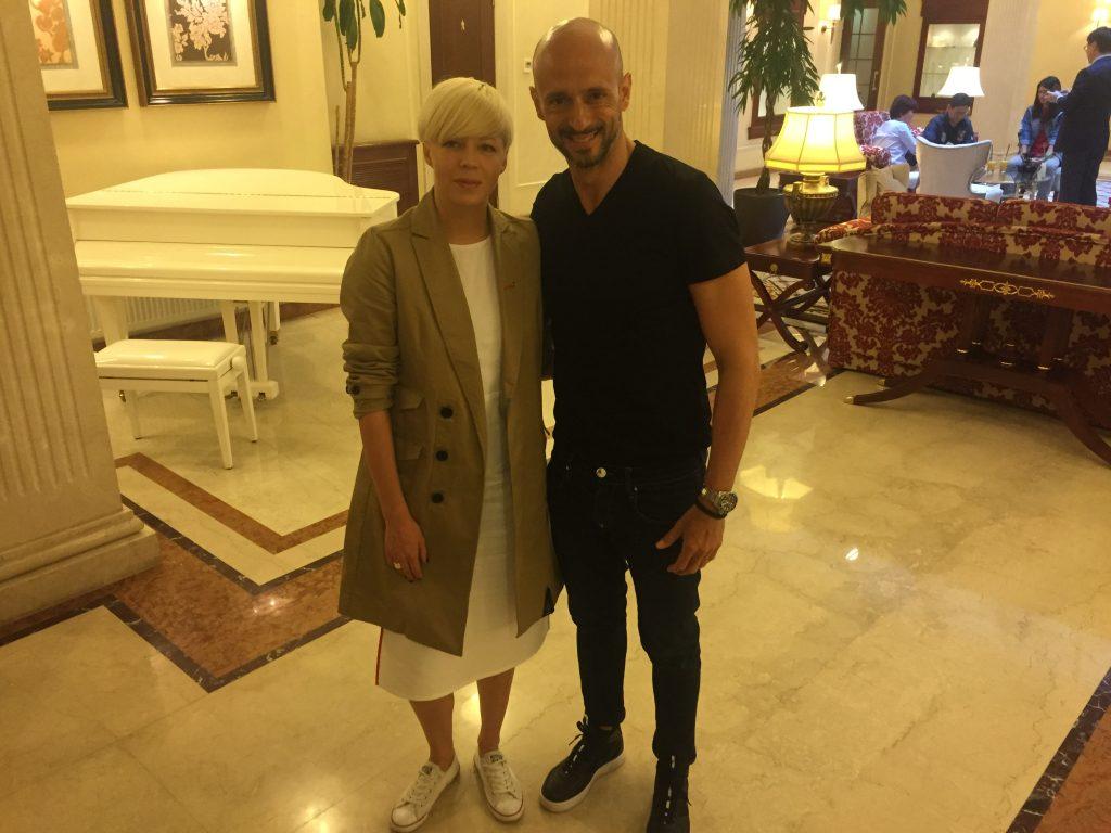 Me and Onuka in Opera Hotel - Kiev