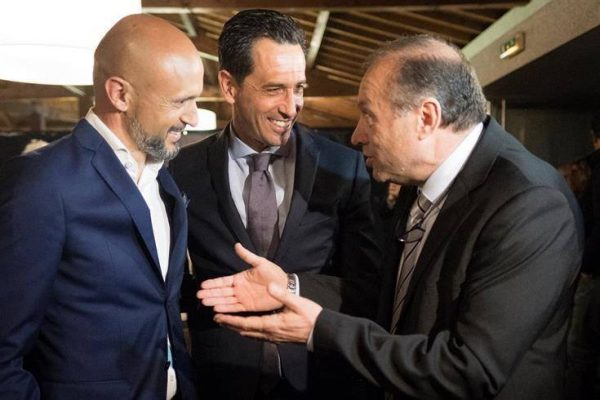 79th Rio Ave Aniversary Dinner - May 10th - With António Campos, President of Rio Ave FC and Pedro proença, President of the Portuguese Football League
