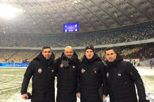 After beating Dynamo Kiev in Olimpiskiy Stadion - FCSD - December 2016