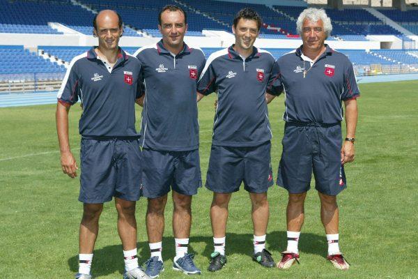 Belenenses - Coaching Staff - With Calos Carvalhal, Murça e Rifa