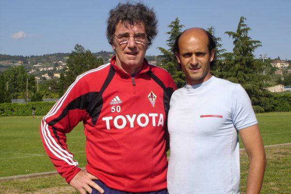 Dino Zoff and me at Coverciano - Italian National Team Training Center - May 2005