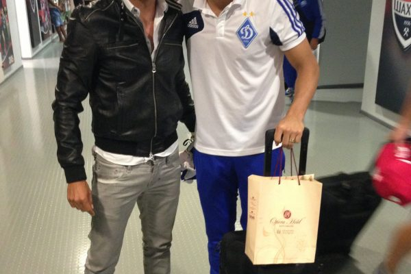 Donbass Arena - Donetsk - With Miguel Veloso - August 2013