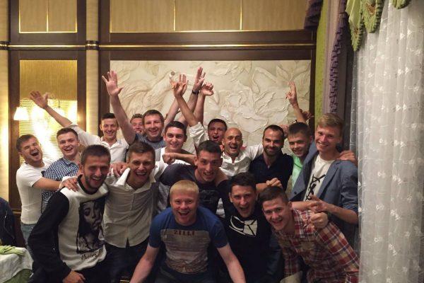 End of season dinner - Poltava - May 2015