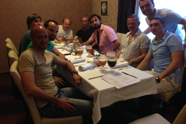 FCSD U21 Staff - End of season dinner - May 2014
