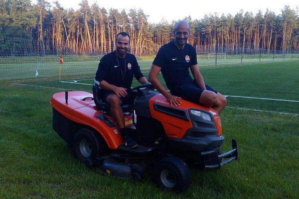 FK Poltava training center - With Telmo Sousa - July 2014