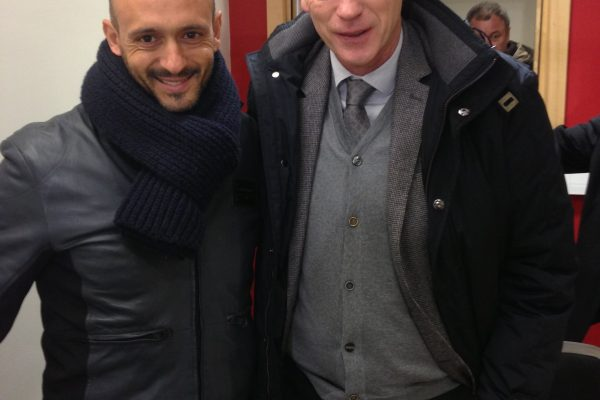 February 2013 - UEFA Youth League game - Manchester United x FCSD - With David Moyes