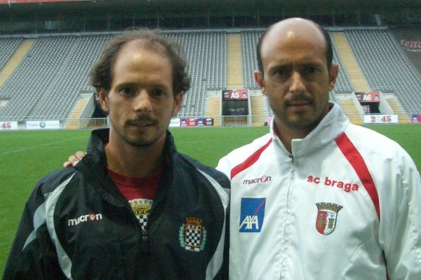 Friendly match against Boavista when my brother was their fitness coach - October 2009