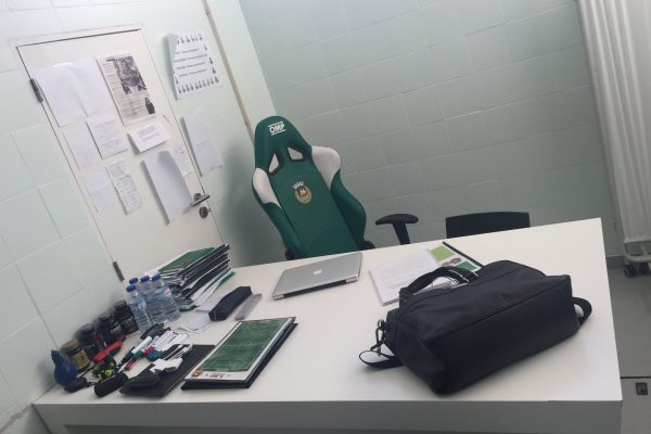 My office - Rio Ave 2017-18