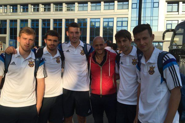 My players representing the Ukrainian U21 NT - June 2015
