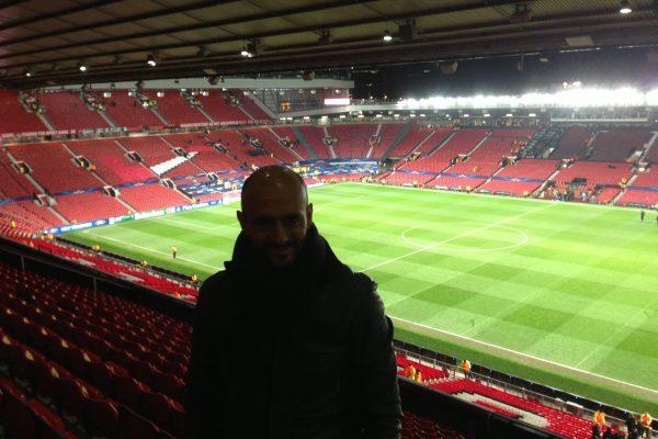 Old Trafford - CL Game - December 2013