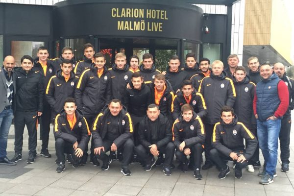 UEFA Youth League game - Malmo x FCSD - November 2015