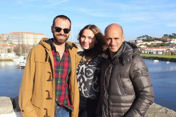 Vila do Conde - With Telmo Sousa and Alicia Borovik - FC Porto X FCSD - December 2014