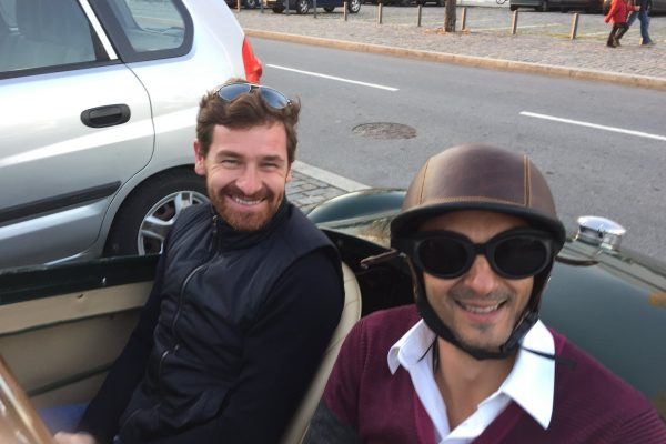 With André Vilas Boas - Let´s go for a ride - December 2014