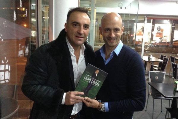With Carlos Carvalhal