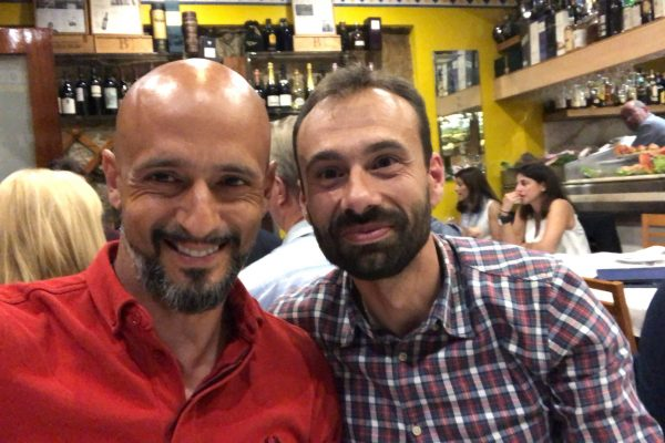 With Hugo Oliveira - Goalkeepers Congress - Afterhours - Porto, May 2018