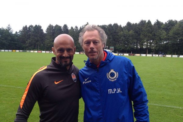 With Michel Preud´homme - July 2016