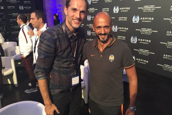 With Thomas Tuchel - Aspire in the World Fellows Gathering - Paris - 2014