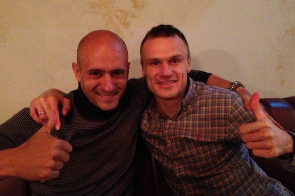 With Viacheslav Shevchuk - December 2013