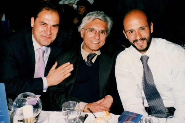 With Vitor Frade and Silvino Louro in 2004
