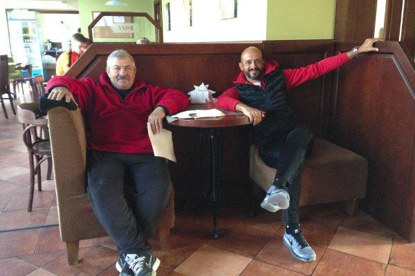 With a good friend in Shaslivoye - Kiev - November 2016