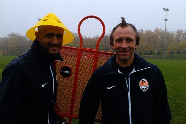 With my assistant coach Anatoly Skirchuk - Kirsha Training Center - Donetsk - October 2013