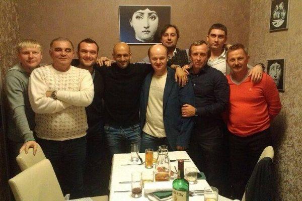 With my staff - FCSD U21 - December 2013