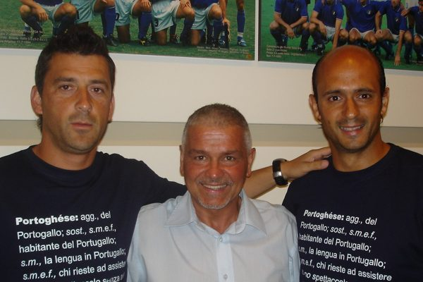 With the cooker of Italian National Team in Florence - Summercamp in Coverciano - July 2005